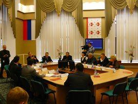 Заседание Дмитровской торговопромышленной палаты Дмитров 2007