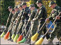 Служба российских солдат
