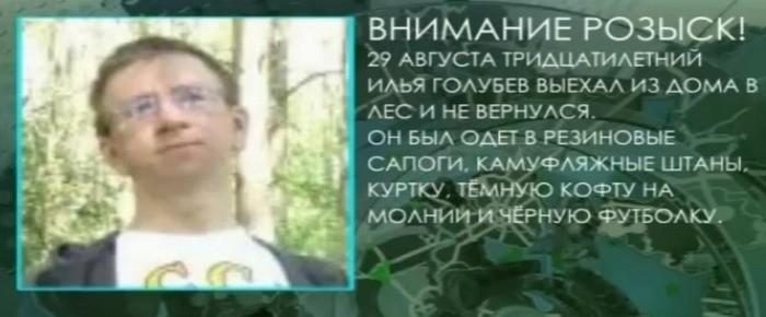 Голубев, Дмитровский район, грибник, поиски
