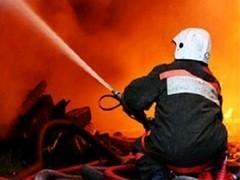 Дмитров пожар на центральном рынке 2013