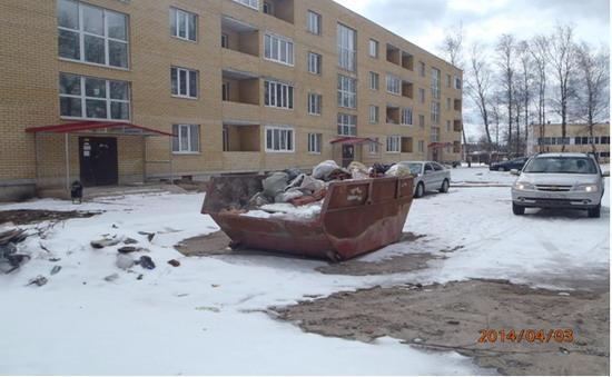 Дмитровский район, Икша, Ермолино, мусор, ГАТН