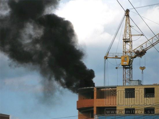Пожар, Дмитров, 2014