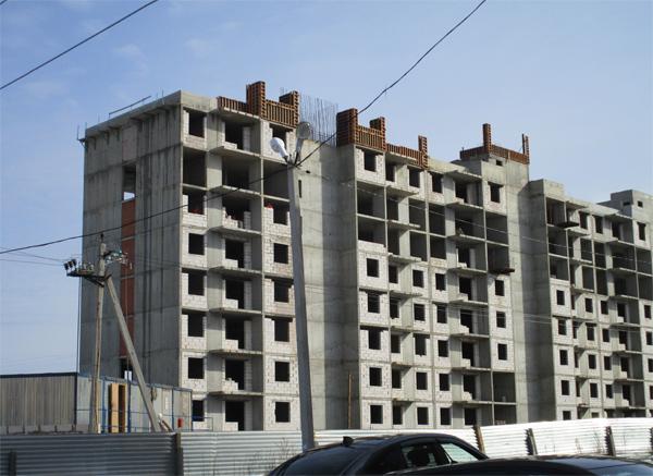 Дмитров, ЖК Спортивный 4, ход строительства март 2016